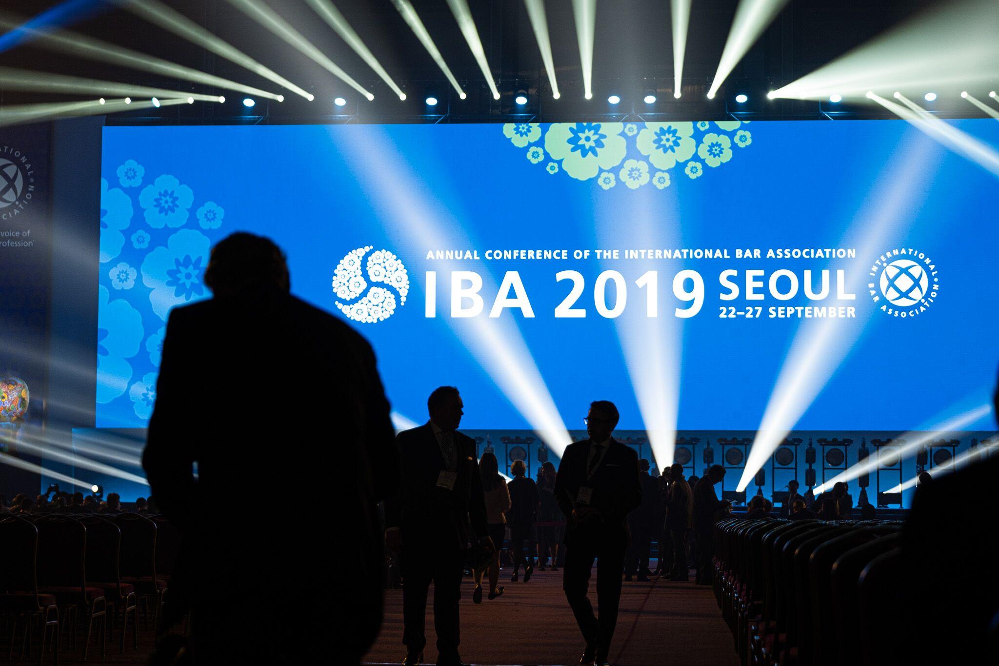 서울에서 개최된 법률분야 세계 최대 국제회의 '2019년 세계변호사협회 총회'